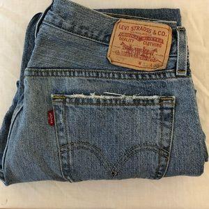 Levi's men's 527 Low Bootcut Jeans 33x30